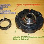 CF-Moto Kupplung